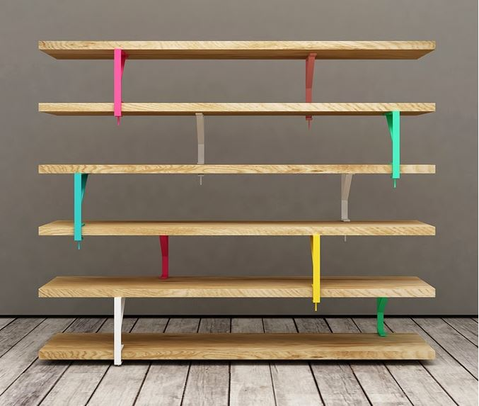 5 biblioth ques originales faire soi m me - Fabrication etagere garage ...