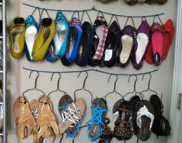 10 id es de rangements chaussures r cup faire soi m me for Decoration de porte a suspendre