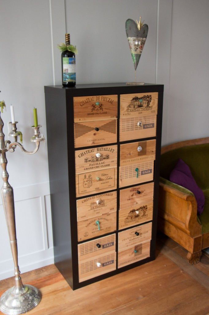 Ikea hack d tourner et customiser une tag re kallax - Customiser un meuble ...