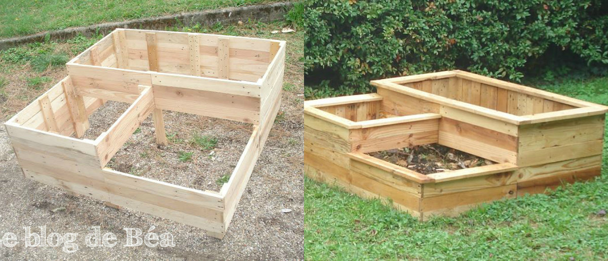 Carre potager nikolo for Amenagement jardin carre