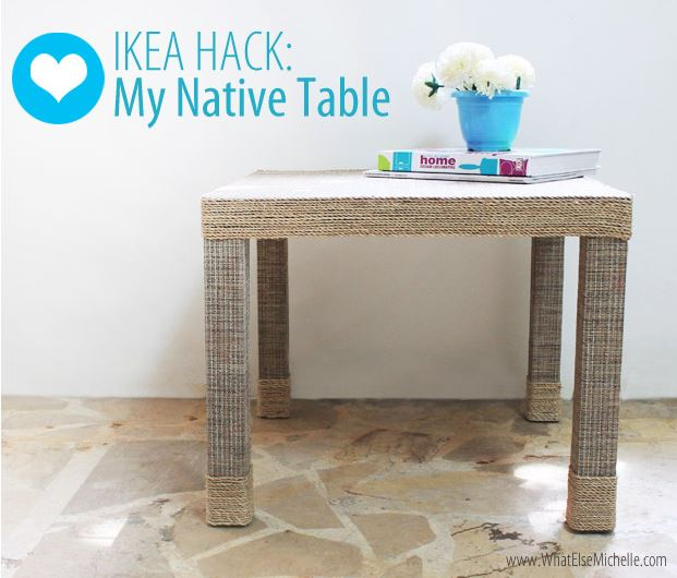 Ides DIY 7 Faons De Customiser Une Table Ikea Lack