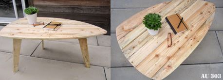 6 tutos pour faire soi m me son mobilier et sa d co scandinave - Faire sa table basse ...